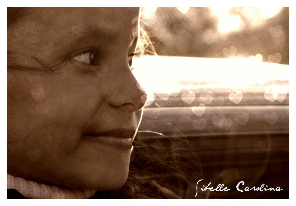 Photo in Portrait #preto e branco #menina #bokeh