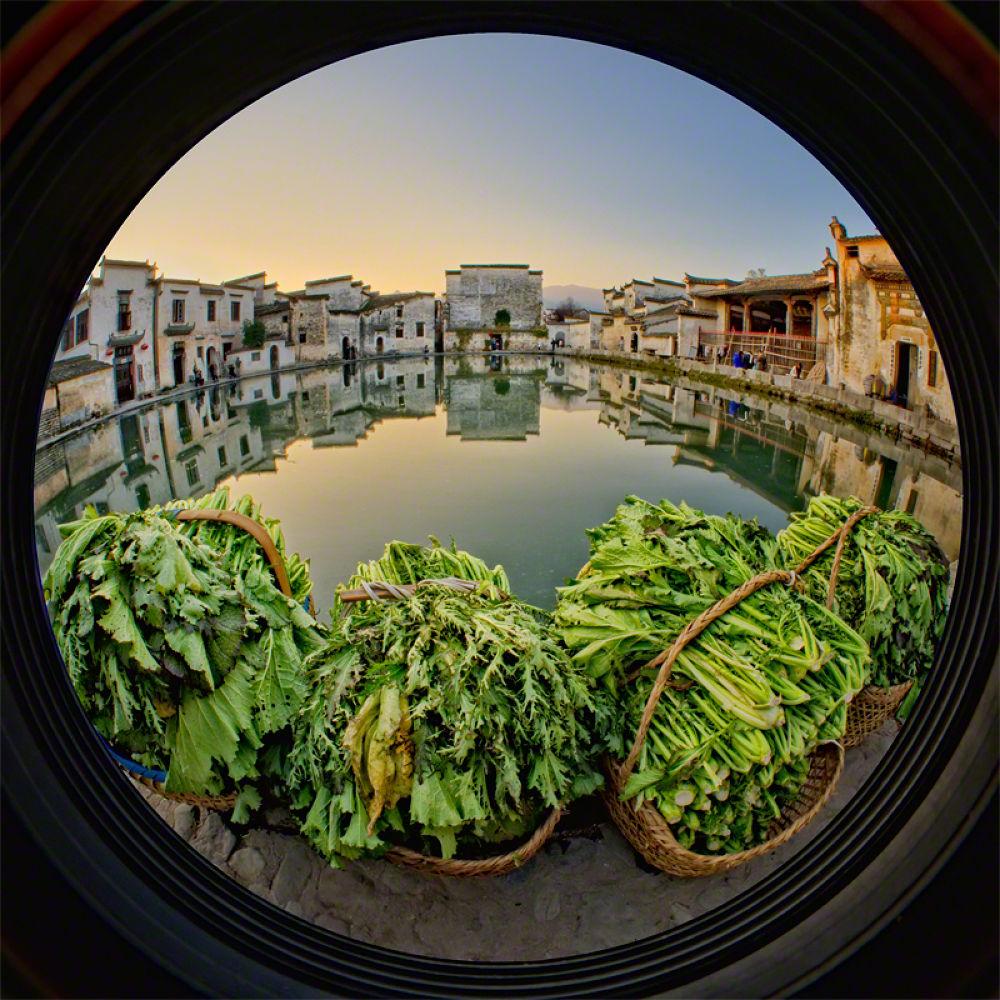 A Fisheye Story of Hongcun by William Yu Photography