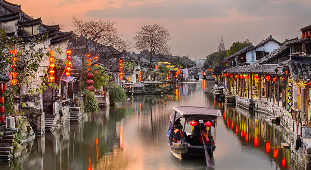 Dusk at Xitang by William Yu Photography