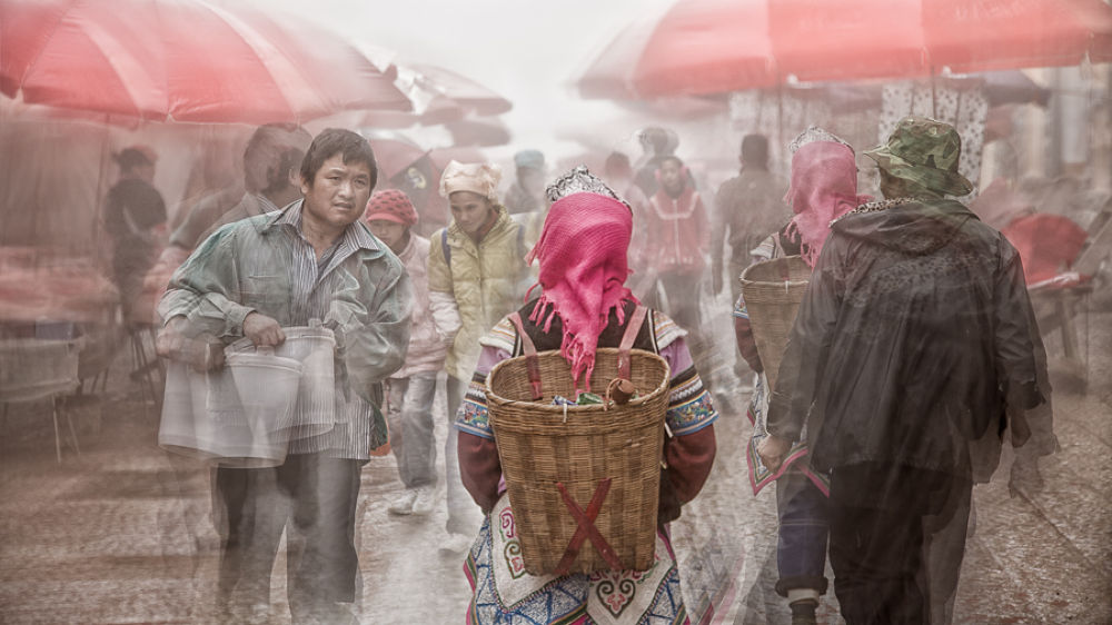 The Busy Market by William Yu Photography