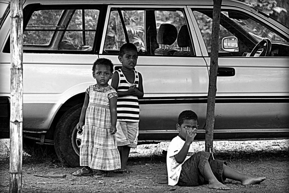 Neighborhood Watch, Viseisei Village (Fiji) by jamesrkirkham
