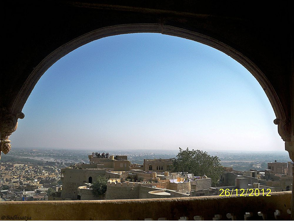 Photo in Random #jaisalmer city from sonar kell