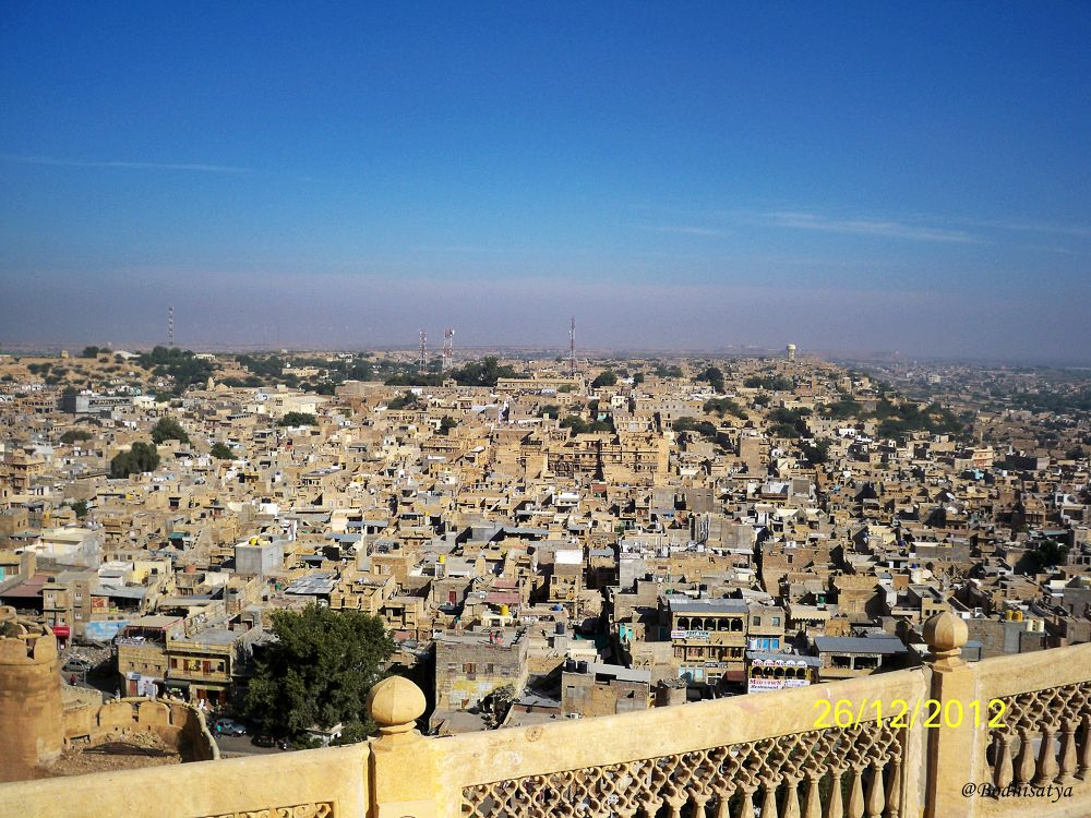 Jaisalmer city by bodhisatya