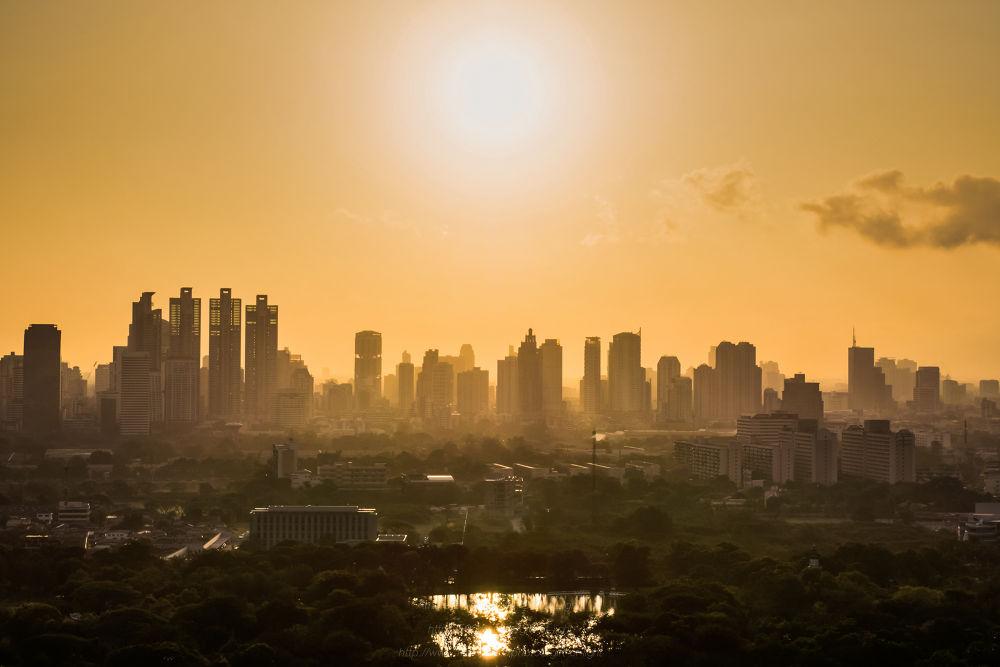 Bangkok under the morning light by Gift_of_Light