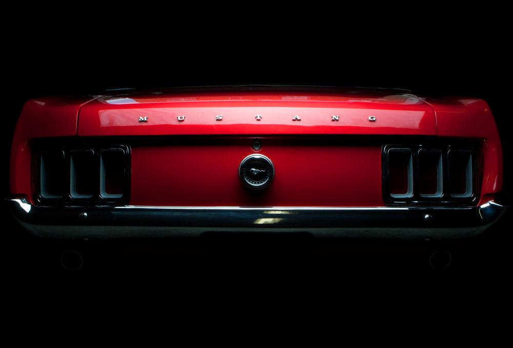 Ford Mustang 351 CI 1969 by Fabien Harrow