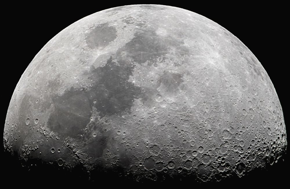 Lunar Mosaic by Odilon Simões Corrêa