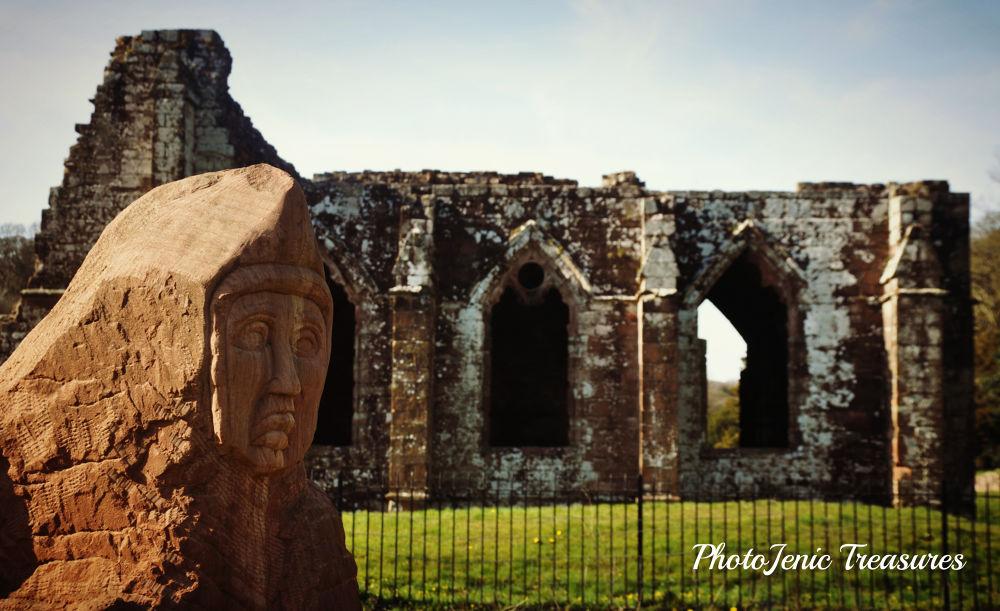 Photo in Architecture #furness #abbey #barrow #lake district #cumbria #photojenic #treasures #monk #stone