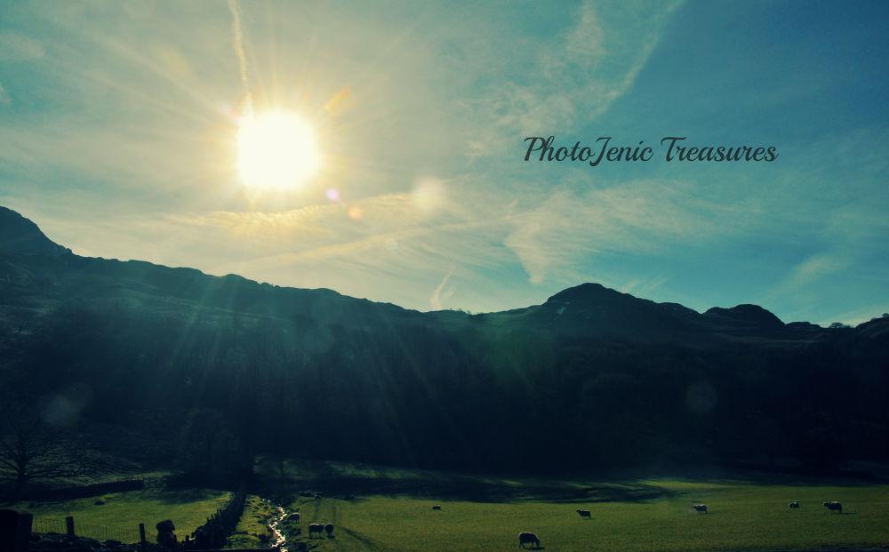 The Sun And The Stream by PhotoJenic Treasures