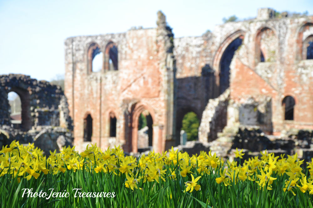 April Time at the Abbey by PhotoJenic Treasures