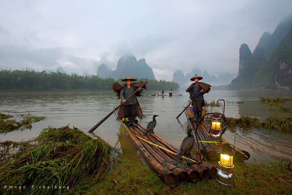The fishermens by Amnon Eichelberg