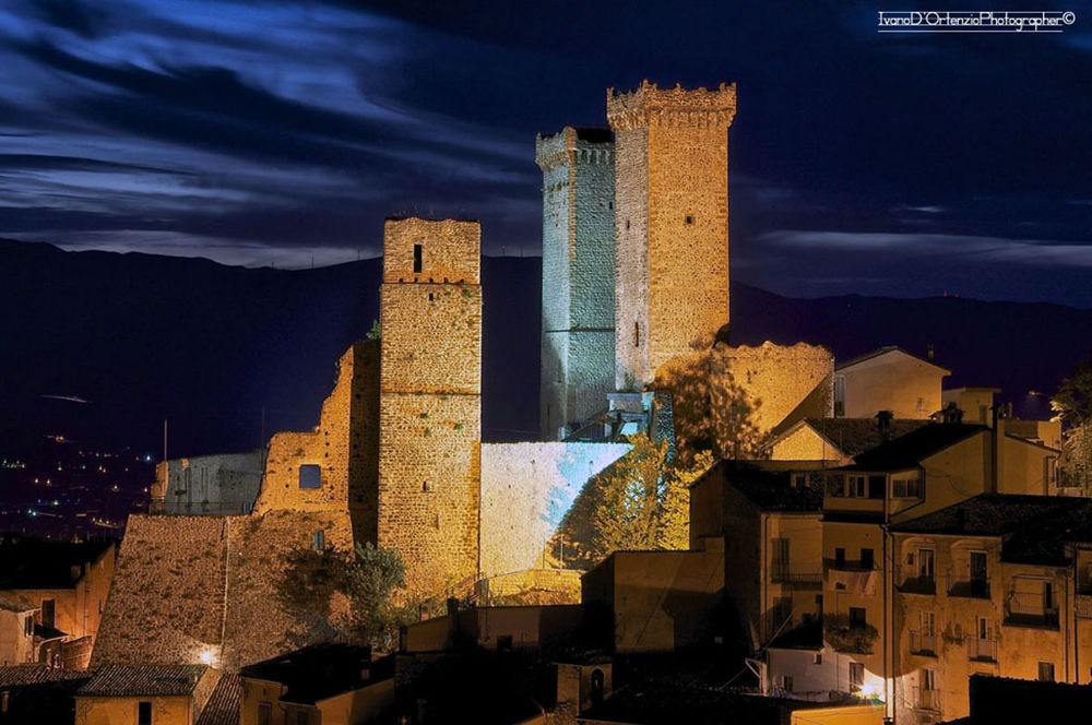 Towers by night by Ivano D'Ortenzio