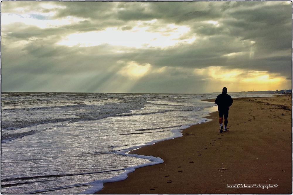 Jogging by Ivano D'Ortenzio