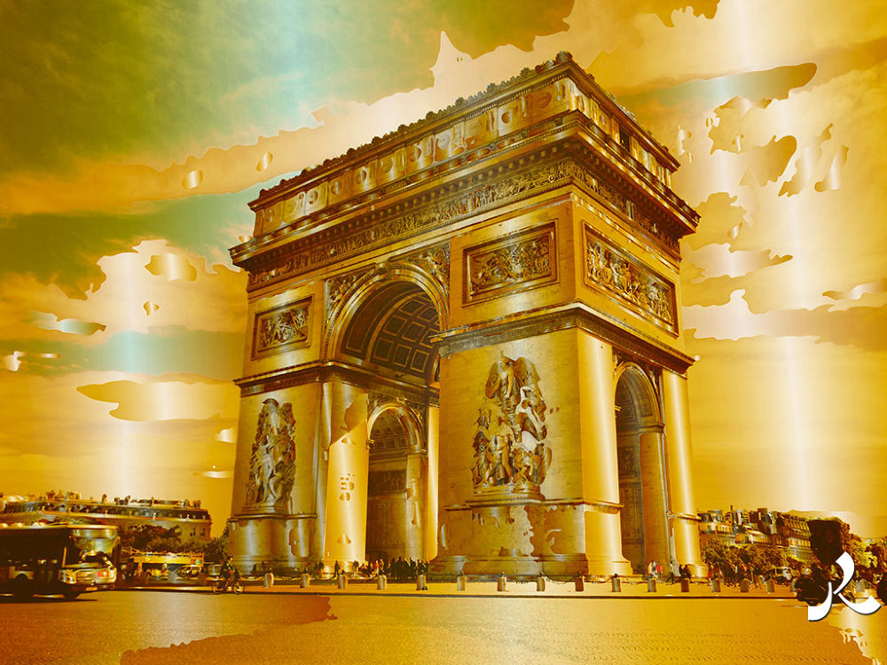 arcdetriomphe132-1or by jacquesraffin