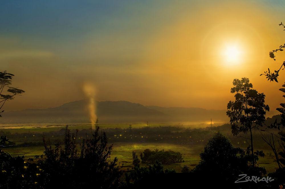Dreamy sunset by zernanmataya
