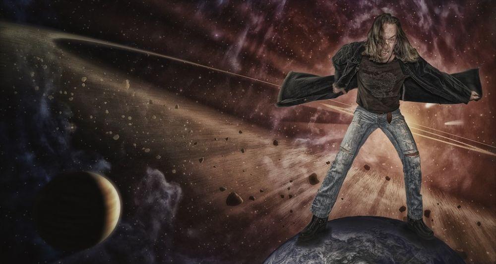 the savior of the world by Somyot & Majid S Blend Werk