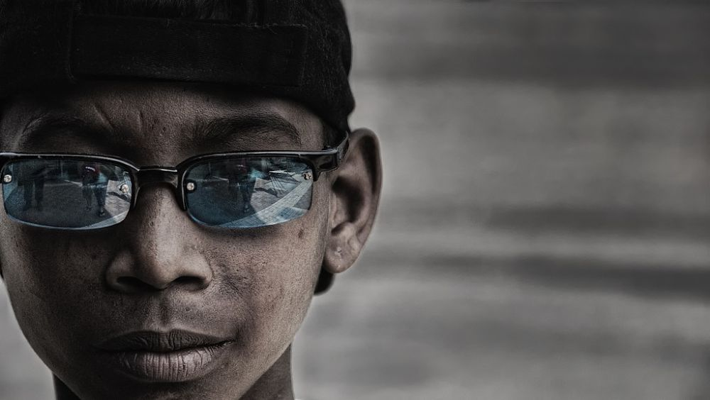 boy from Bangladesh by Somyot s & Majid s Blend Werk