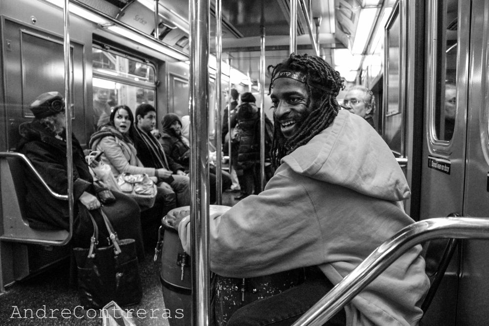 In Subway of NY by andreinacontreras547