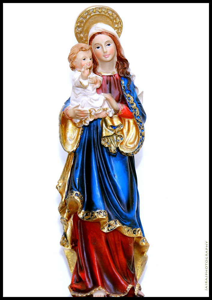 """Mama Mary - But the angel said to her, """"Do not be afraid, Mary, you have found favor with God. You w by Jairaj"""