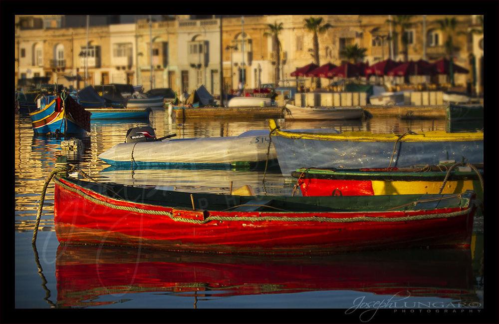 marsaxlokk boats  by lungaro1