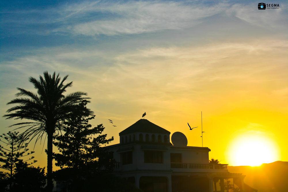 Sun-Rise by Nader Boulaich Segma