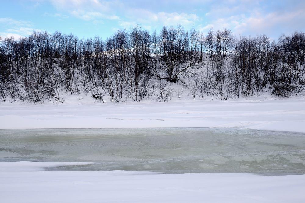 Frozen River by eldadpaz