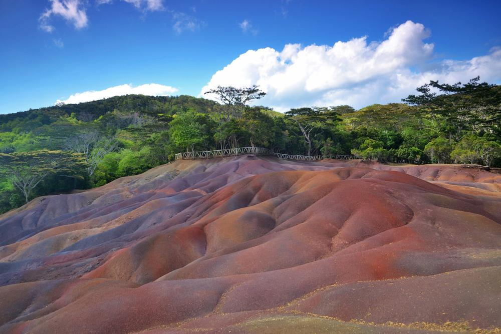 Photo in Travel #seven colored earths #mauritius