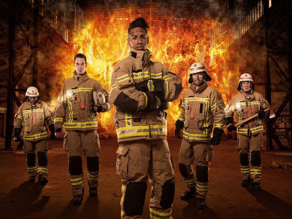 Fire Fighters by Stefan Schäfer Photography