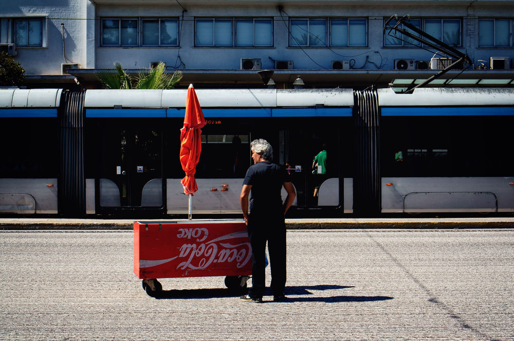 Coke stand by Spyros Papaspyropoulos