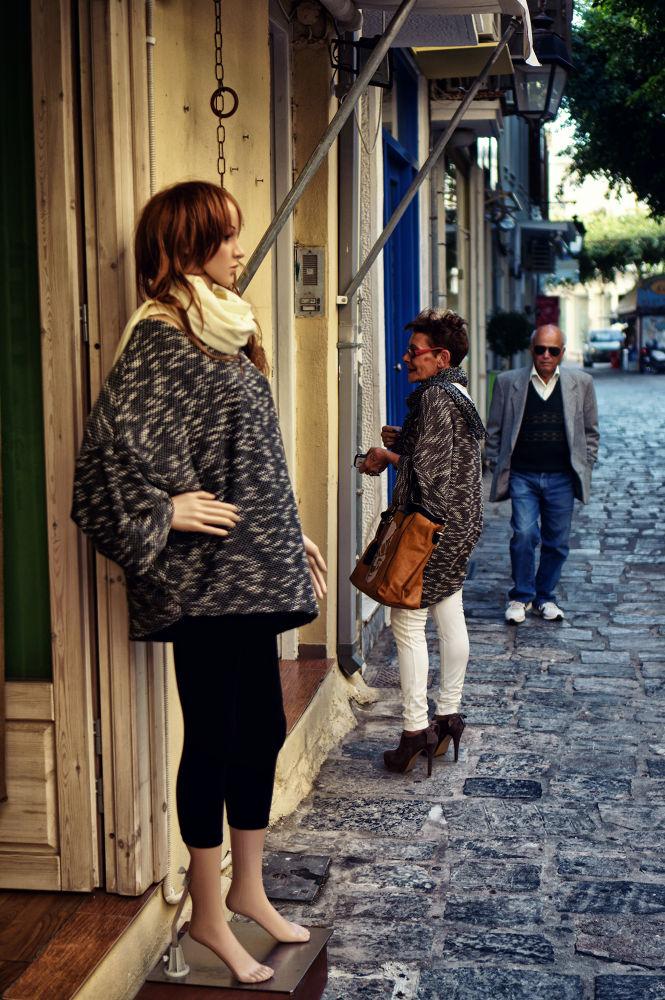 Nice blouse by Spyros Papaspyropoulos