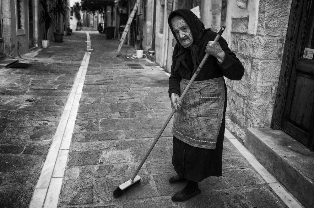 Still sweeping by Spyros Papaspyropoulos