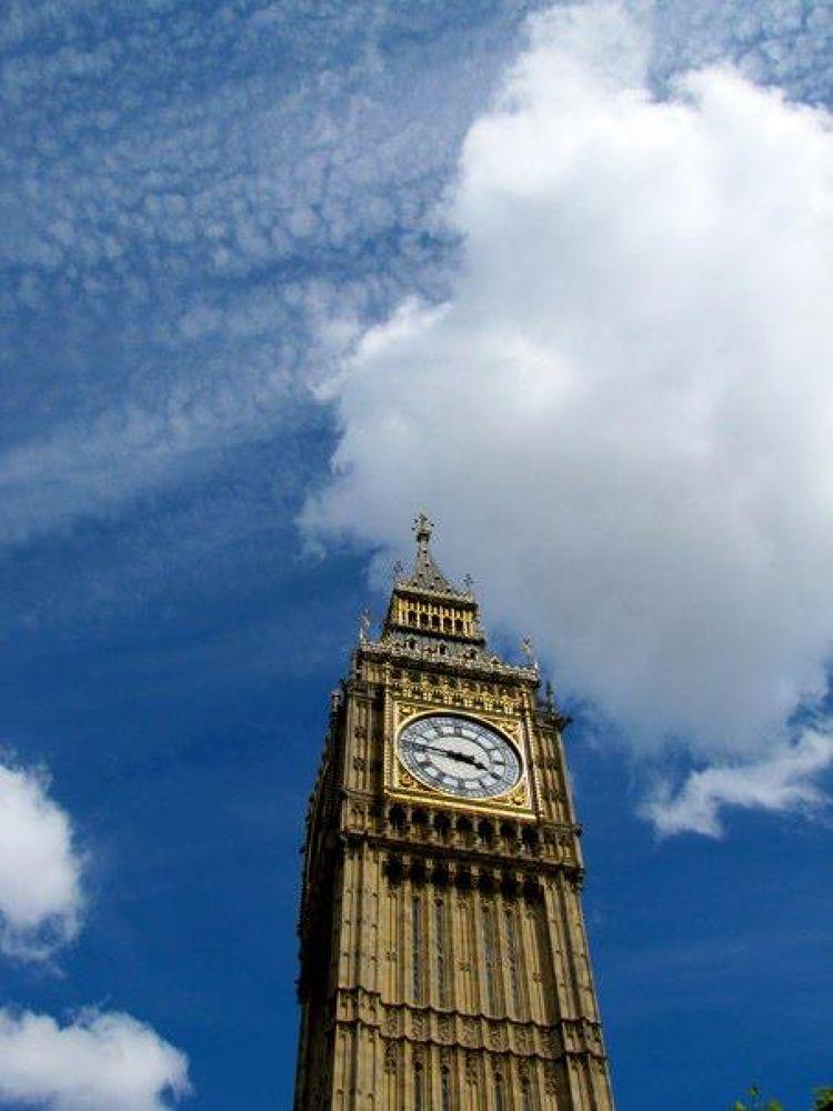 Big Ben, London by Elaine M