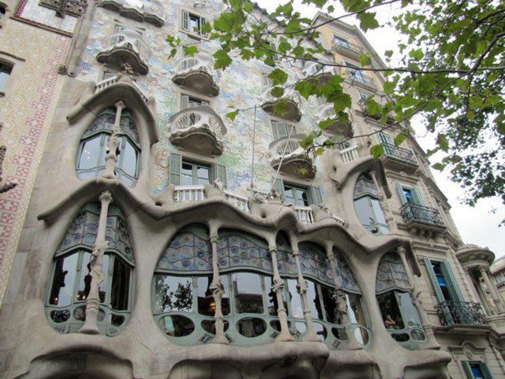 Barcelona, Spain by Elaine M
