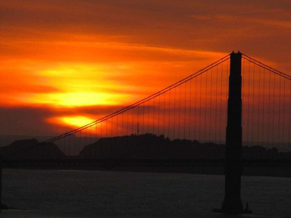 GG Bridge, SF by Elaine M