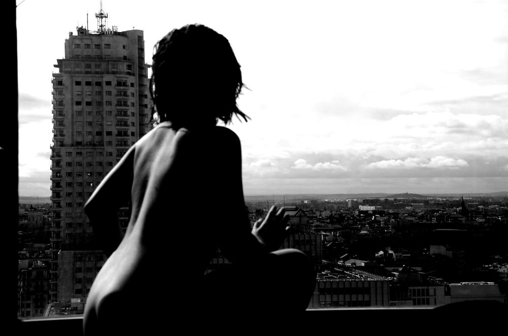 Photo in Random #ypa2013 #art #creativity #black and white #nude #shadow #light #madrid
