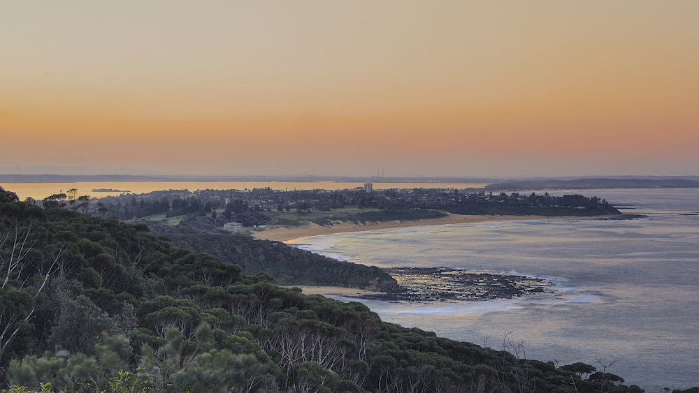 Sunset at Crackneck, Central Coast, NSW. by PAUL (PaddyPoet) BMJ LOFTUS