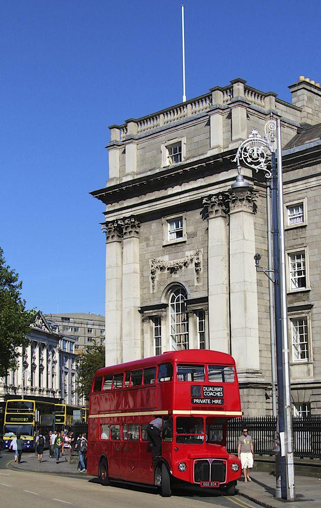 Old Dublin Bus by PAUL (PaddyPoet) BMJ LOFTUS