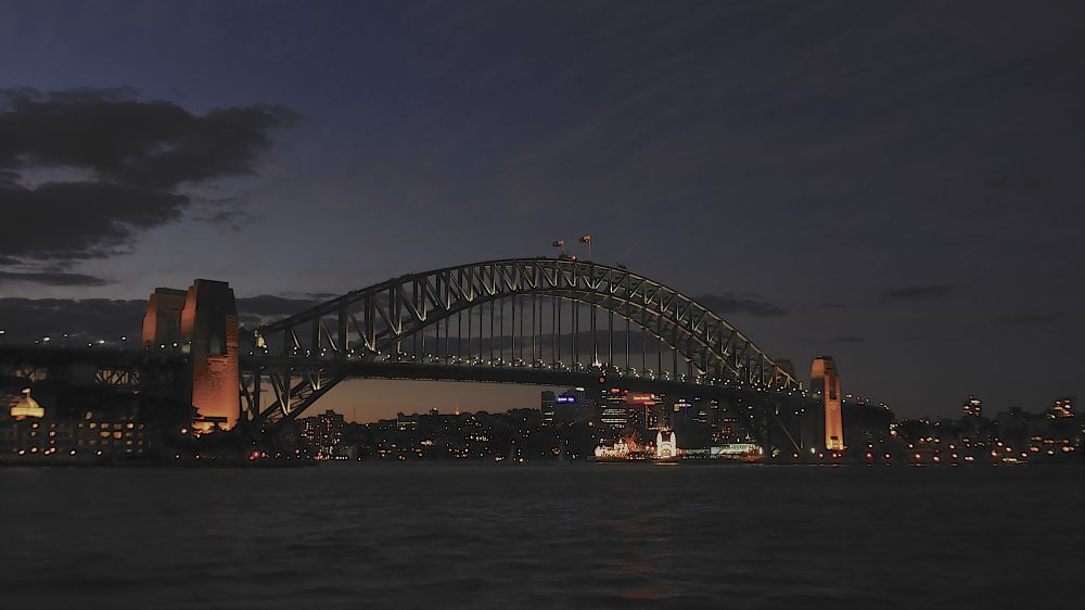 Sydney Harbour View of the North Shore by PAUL (PaddyPoet) BMJ LOFTUS