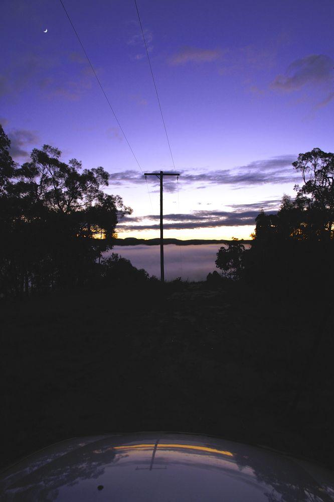Misty Morning Drive by PAUL (PaddyPoet) BMJ LOFTUS