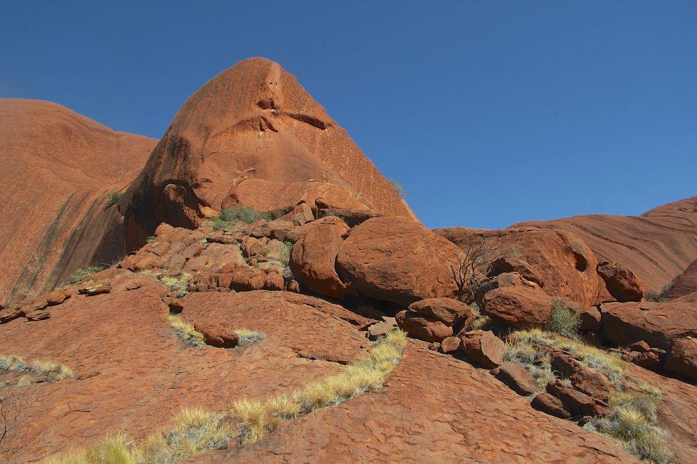 ULURU VIEW - Central Australia. by PAUL (PaddyPoet) BMJ LOFTUS