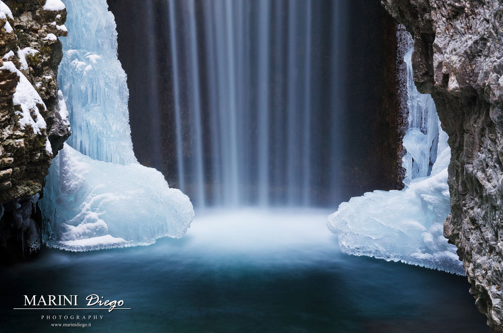 La cascata gelata by dieguz86