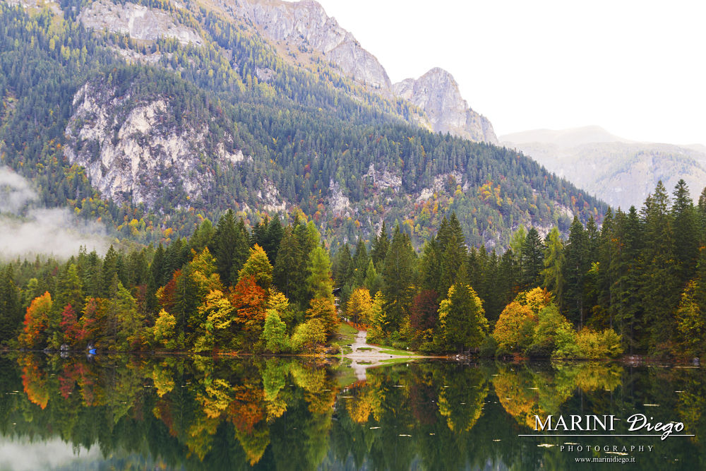 Autunno a lago Tovel by dieguz86