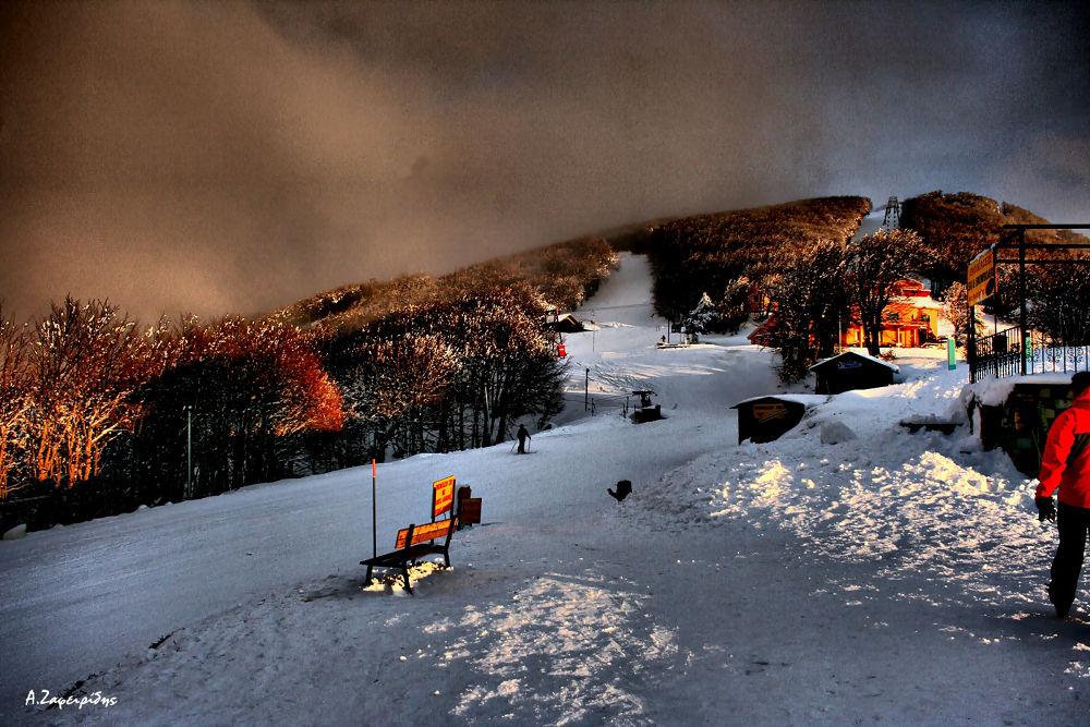 Chania ski resort - Mt Pelio (Magnesia) by aZafeiridis