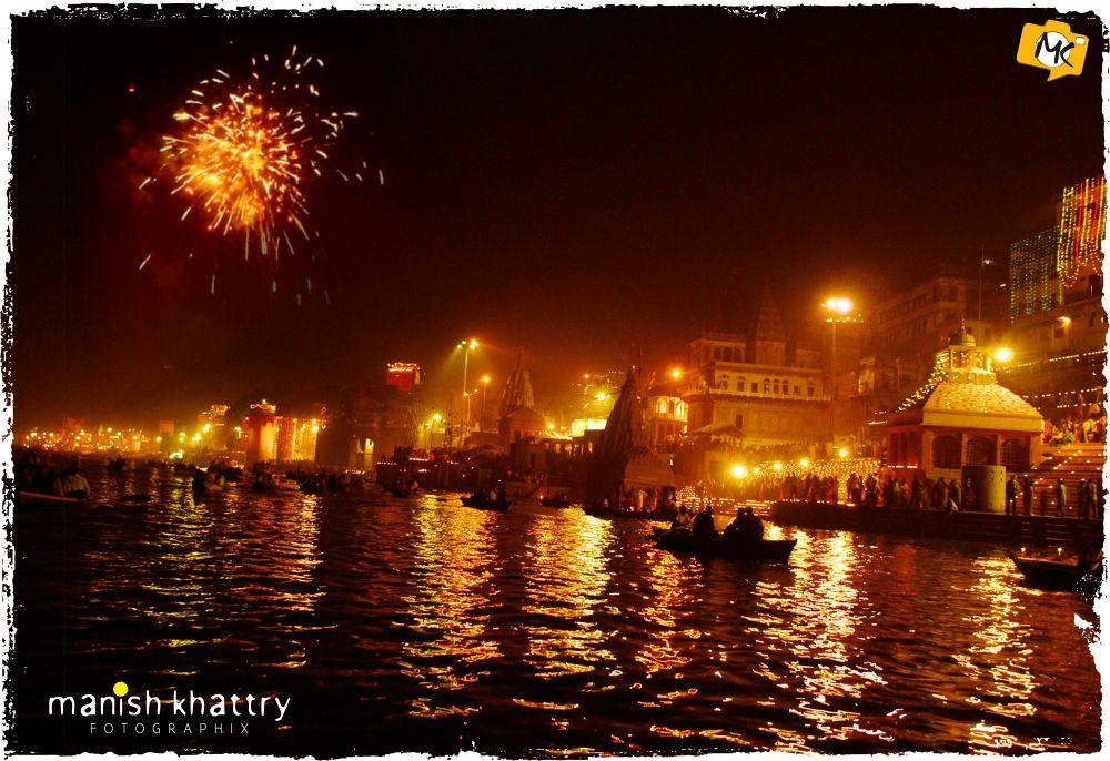 Dev Deepawali, Varanasi  by mkhattry