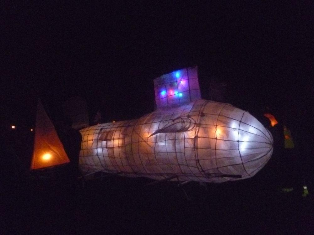 Submarine Lantern by Phaedra