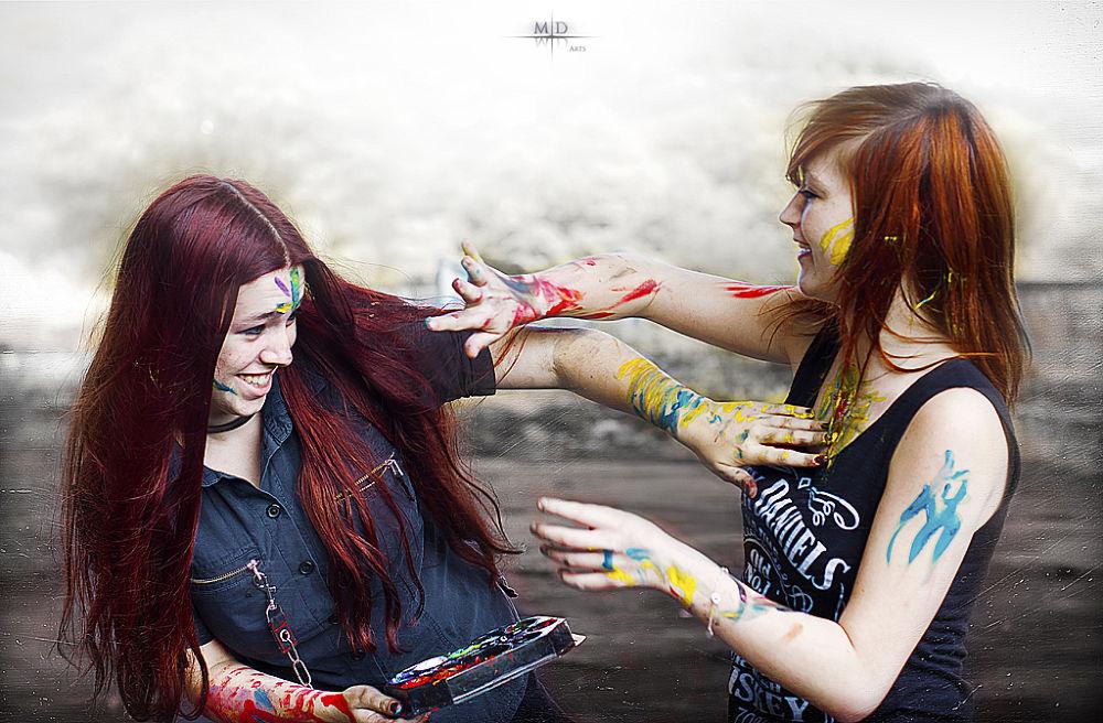 Battle of Colors by M.D. Art