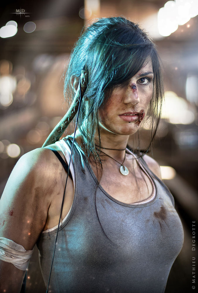 Lara Croft by M.D. Art
