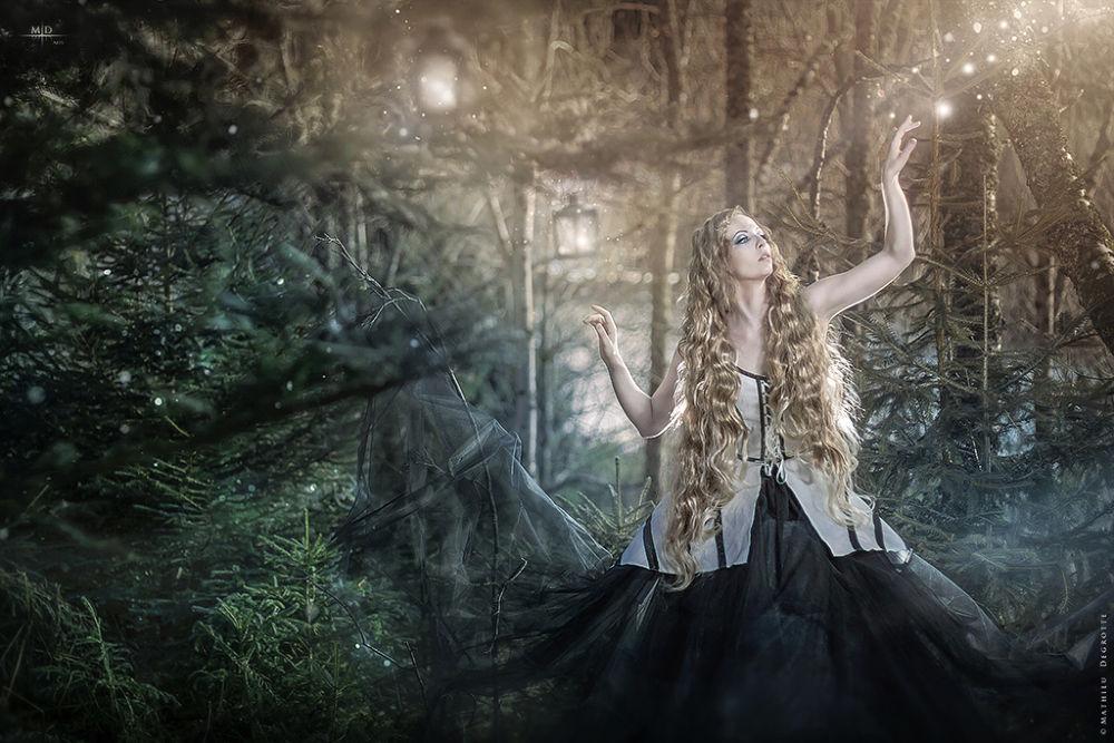 December Enchantress by M.D. Art