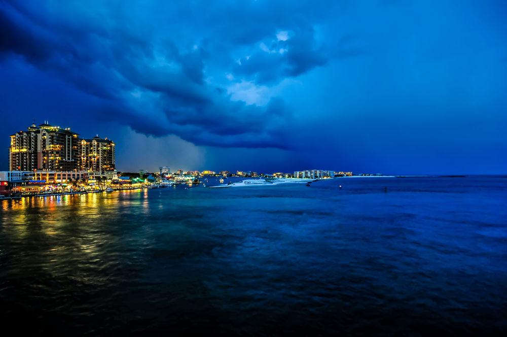 destin thunderstorms by digidreamgrafix