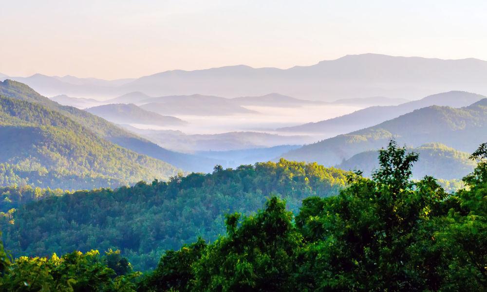 Photo in Landscape #smoky mountains #nature #landscape #north carolina #blue ridge parkway