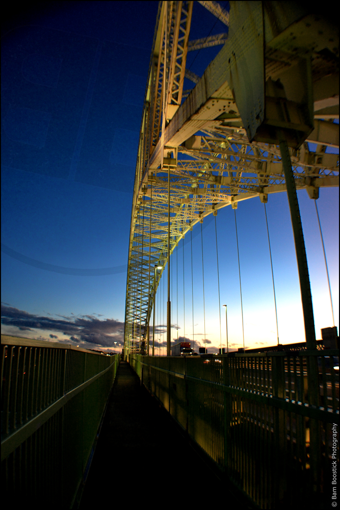 Runcorn Widnes Bridge by Bam Boostick